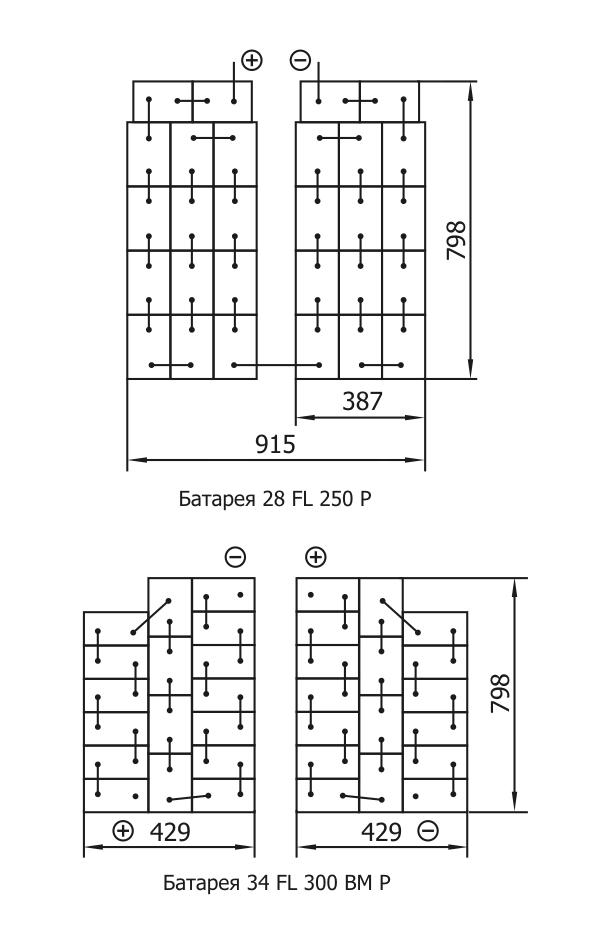 Схема соединения 34FL300